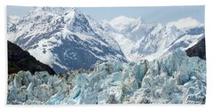 Glaciers End Of A Journey Hand Towel