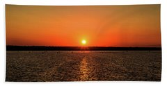 End Of Day Hand Towel by April Reppucci