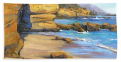 End Of Summer / Laguna Beach Hand Towel