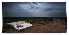 Hand Towel featuring the photograph End Of The Earth by Tim Nichols