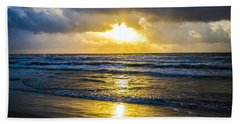 Bath Towel featuring the photograph End Of The Season Padre 29 by Mez
