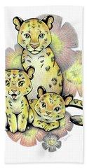 Endangered Animal Amur Leopard Bath Towel