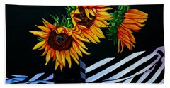 Endless Summer Bath Towel by Susan Duda