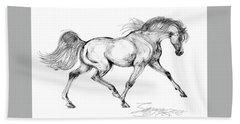 Endurance Horse Hand Towel