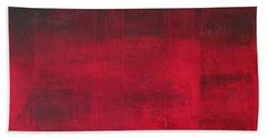 Hand Towel featuring the painting Energie Intense by Nicole Nadeau