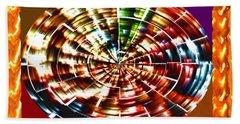 Energy Aura Cleaning Wheel In Motion Yoga Meditation Mandala By Navinjoshi At Fineartamerica.com Hand Towel