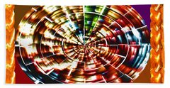 Energy Aura Cleaning Wheel In Motion Yoga Meditation Mandala By Navinjoshi At Fineartamerica.com Bath Towel