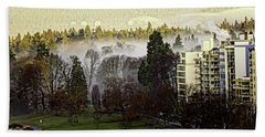 English Bay Fog Bath Towel