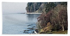 English Bay Shore Bath Towel