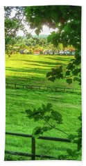 English Summer Contentment  Hand Towel