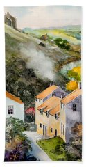 English Village Hand Towel