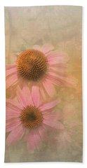 Enhanced Conehead Daisy Hand Towel by Arlene Carmel