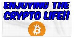 Enjoy The Crypto Life #4 Hand Towel