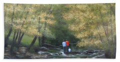 Eno River Afternoon Hand Towel