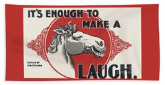 Enough Is Enough Hand Towel by Pg Reproductions