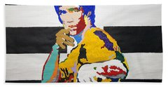 Enter The Dragon Li Bath Towel by Stormm Bradshaw