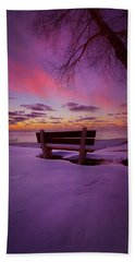 Hand Towel featuring the photograph Enters The Unguarded Heart by Phil Koch