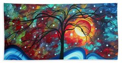 Envision The Beauty By Madart Bath Towel