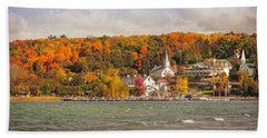 Bath Towel featuring the photograph Ephraim Wisconsin In Door County by Heidi Hermes