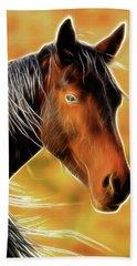 Equine Colors Bath Towel by Steve McKinzie