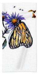 Erika's Butterfly One Bath Towel
