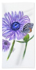Erika's Butterfly Three Hand Towel