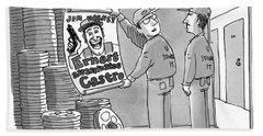 Ernest Assassinates Castro Bath Towel