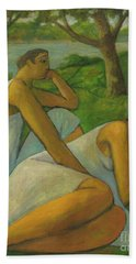 Eros And Rhea Bath Towel