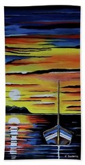 Escape To The Sea Bath Towel by Kathleen Sartoris