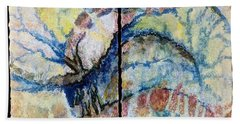 Hand Towel featuring the painting Escaping Reality by Carolyn Rosenberger