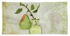 Essence Of Pear Bath Towel