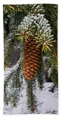 Bath Towel featuring the photograph Essence Of Winter  by Bruce Carpenter