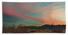 Estrella Sunset Bath Towel by David Cote