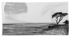 Estuary Bath Towel by Roger Lighterness