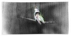 Hand Towel featuring the photograph Etching by Barbara S Nickerson