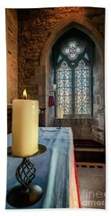 Bath Towel featuring the photograph Eternal Flame by Adrian Evans