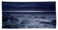 Bath Towel featuring the photograph Eternal Horizon by Jorge Maia