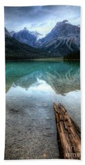 Eternal Reflections Emerald Lake Yoho National Park British Columbia Canada Hand Towel