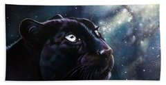 Hand Towel featuring the painting Eternal by Sandi Baker