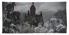 Hand Towel featuring the digital art Eternal Winter by Chris Lord