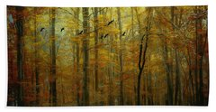 Ethereal Autumn Hand Towel