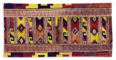 Ethnic Tribal Bath Towel