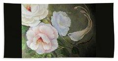 Etre Fleur  Bath Towel by Patricia Schneider Mitchell