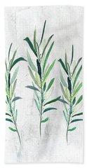Eucalyptus Branches Hand Towel
