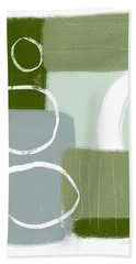 Eucalyptus Breeze 1- Art By Linda Woods Bath Towel