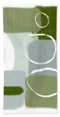 Eucalyptus Breeze  2- Art By Linda Woods Hand Towel