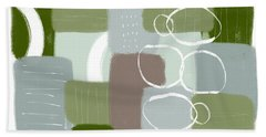 Eucalyptus Breeze 3- Art By Linda Woods Bath Towel