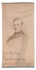 Eugene Joseph Verboeckhoven  By Hector De Saedeler Belgian, Active 1860s Bath Towel
