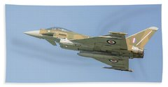 Euro Fighter Hand Towel by Roy McPeak