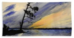 Evening At Petrie Island Bath Towel
